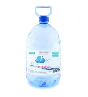 Вода артезианская 6 литров